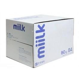 복사지 밀크 B4 80g